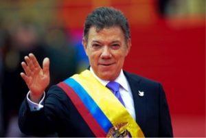 Juan Manuel Santos by MAURICIO MUÑOZ